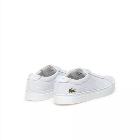 389e9285b6234 Men s White Lacoste Sneakers L.12.12 BL 2) Textile